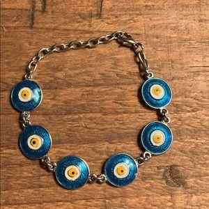 """""""Evil eye"""" bracelet"""